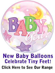 New Baby Balloon In A Box